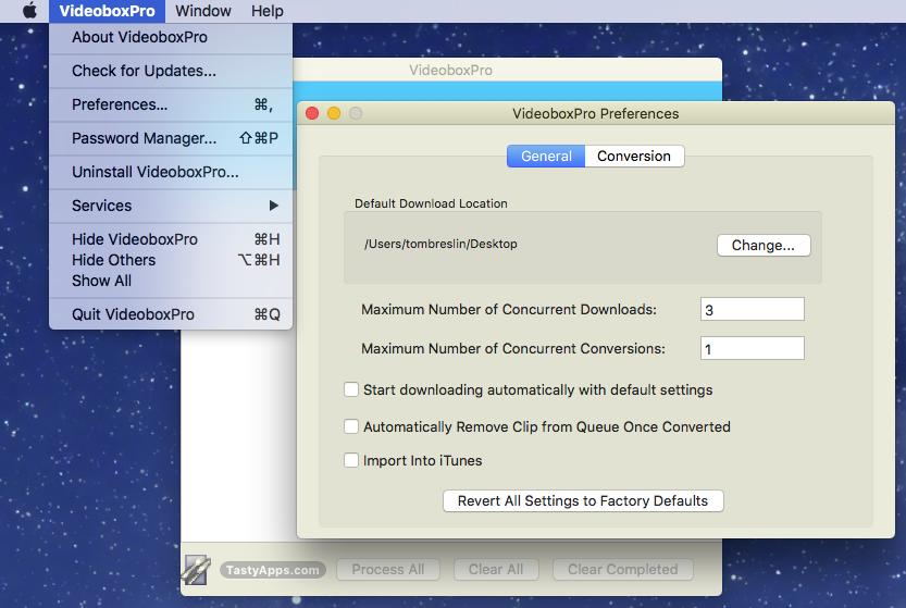 VideoboxPro for Mac 1.2.2 破解版 - 视频下载工具